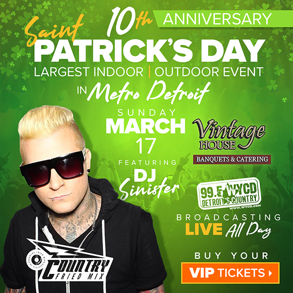 St. Patrick's Day Party Metro Detroit