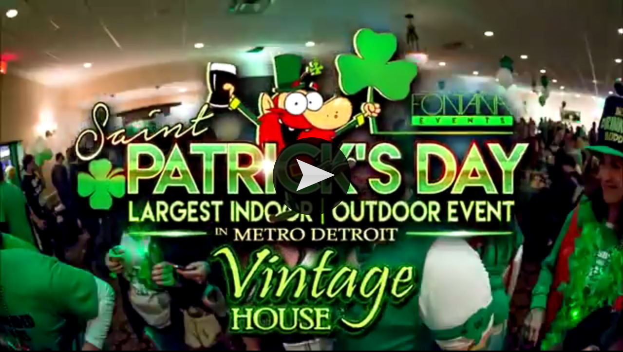 St. Patrick's Day Party Metro Detroit 2017
